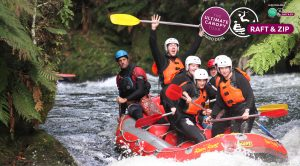 Group-of-people-white-water-rafting