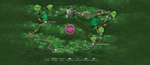 Ultimate Canopy Tour Zipline Adventure Map