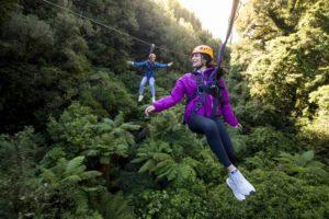 Double Zipline Rotorua