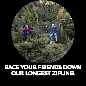 Race Your Friends Down Our Longest Zipline! Min